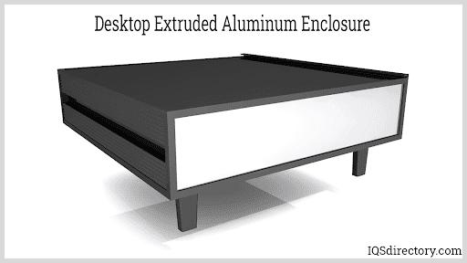 Desktop Extruded Aluminum Enclosure