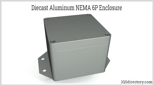 Diecast Aluminum NEMA 6P Enclosure