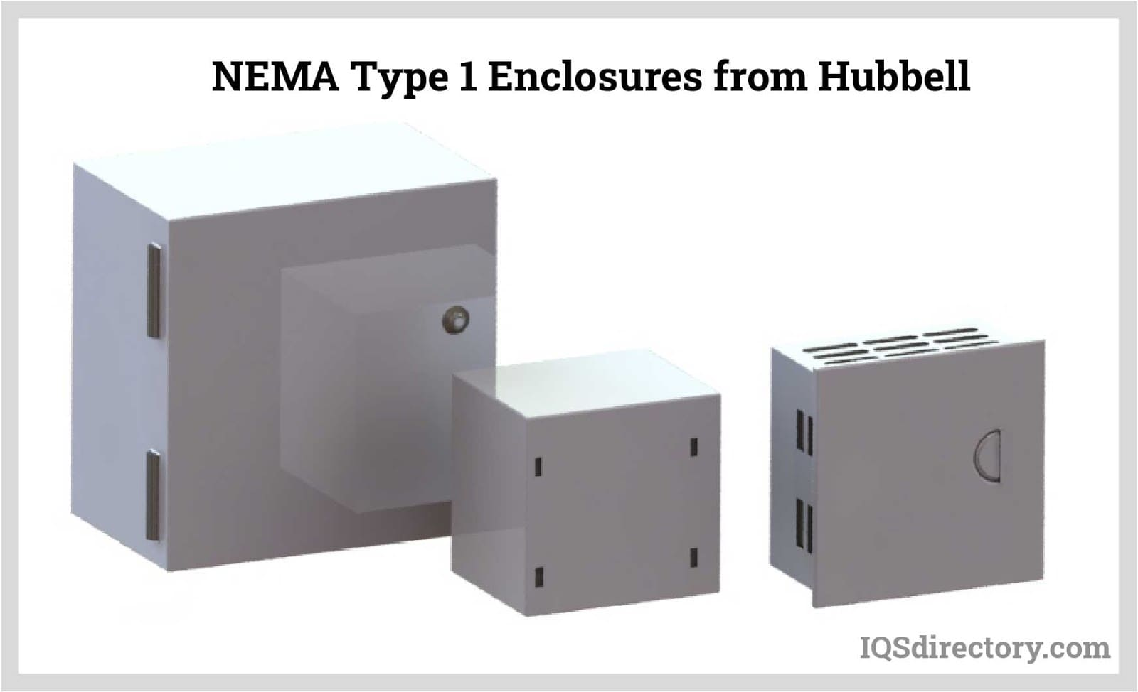 NEMA Type 1 Enclosures from Hubbell