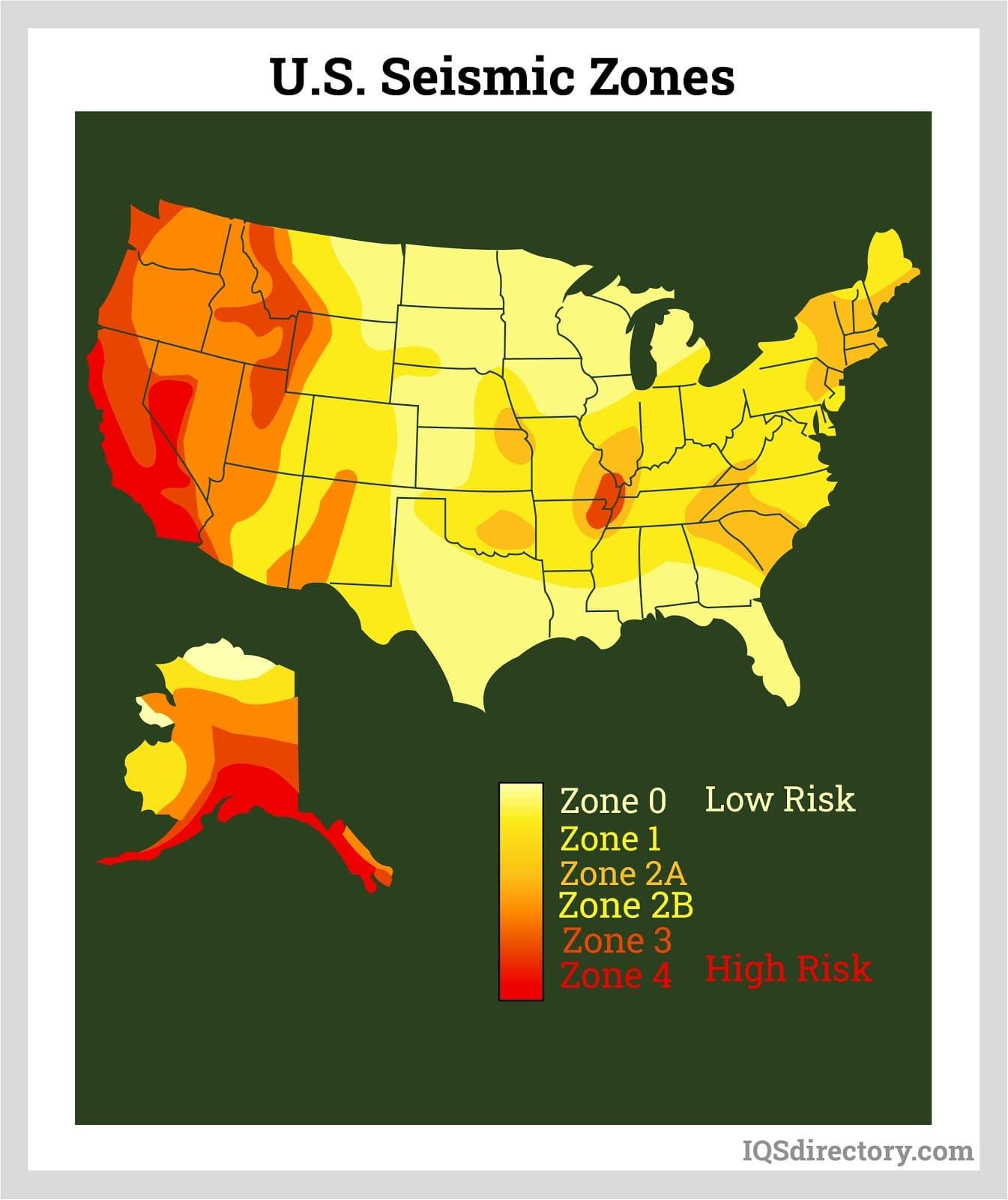 U.S. Seismic Zones