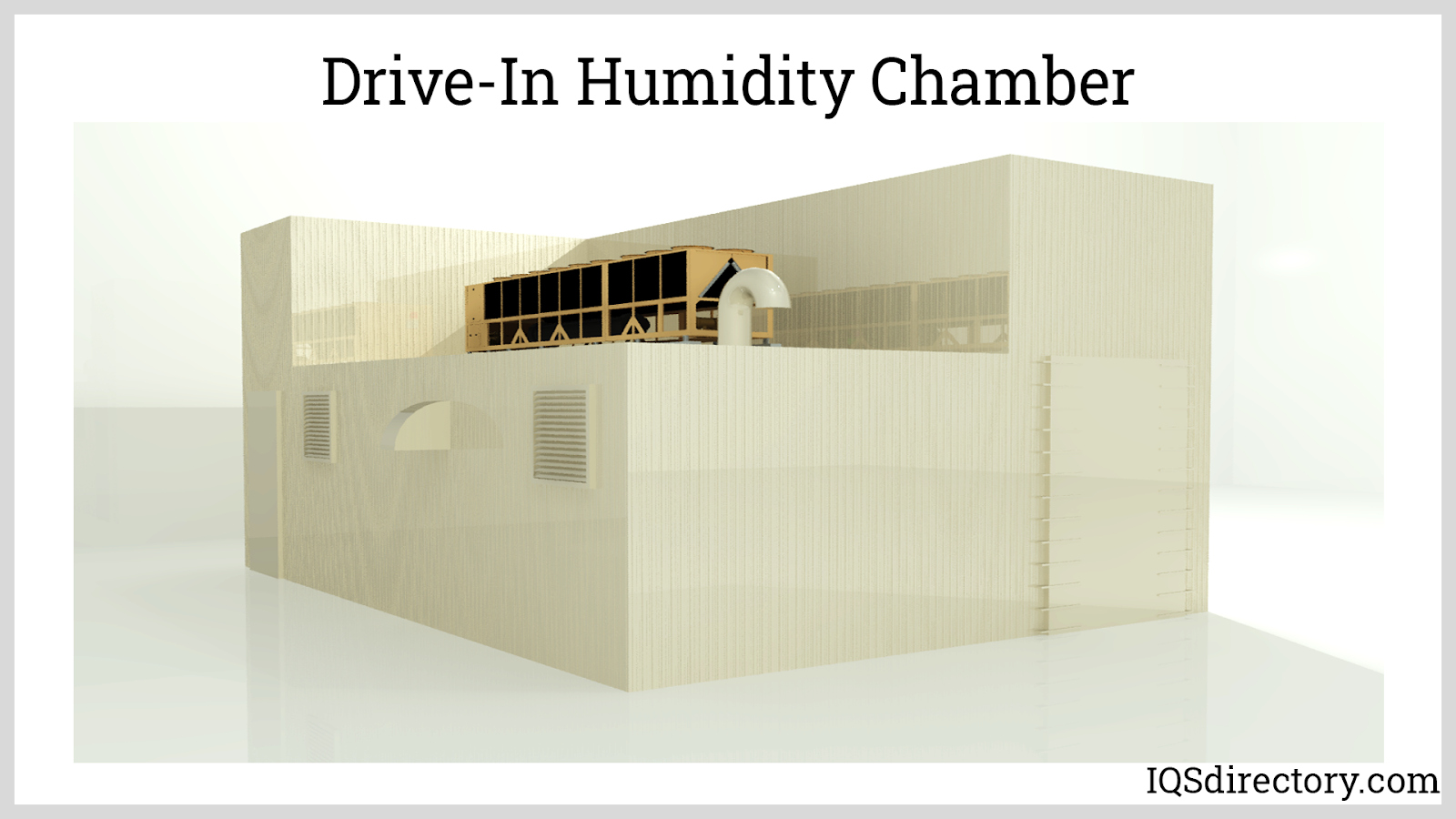 Drive-In Humidity Chamber