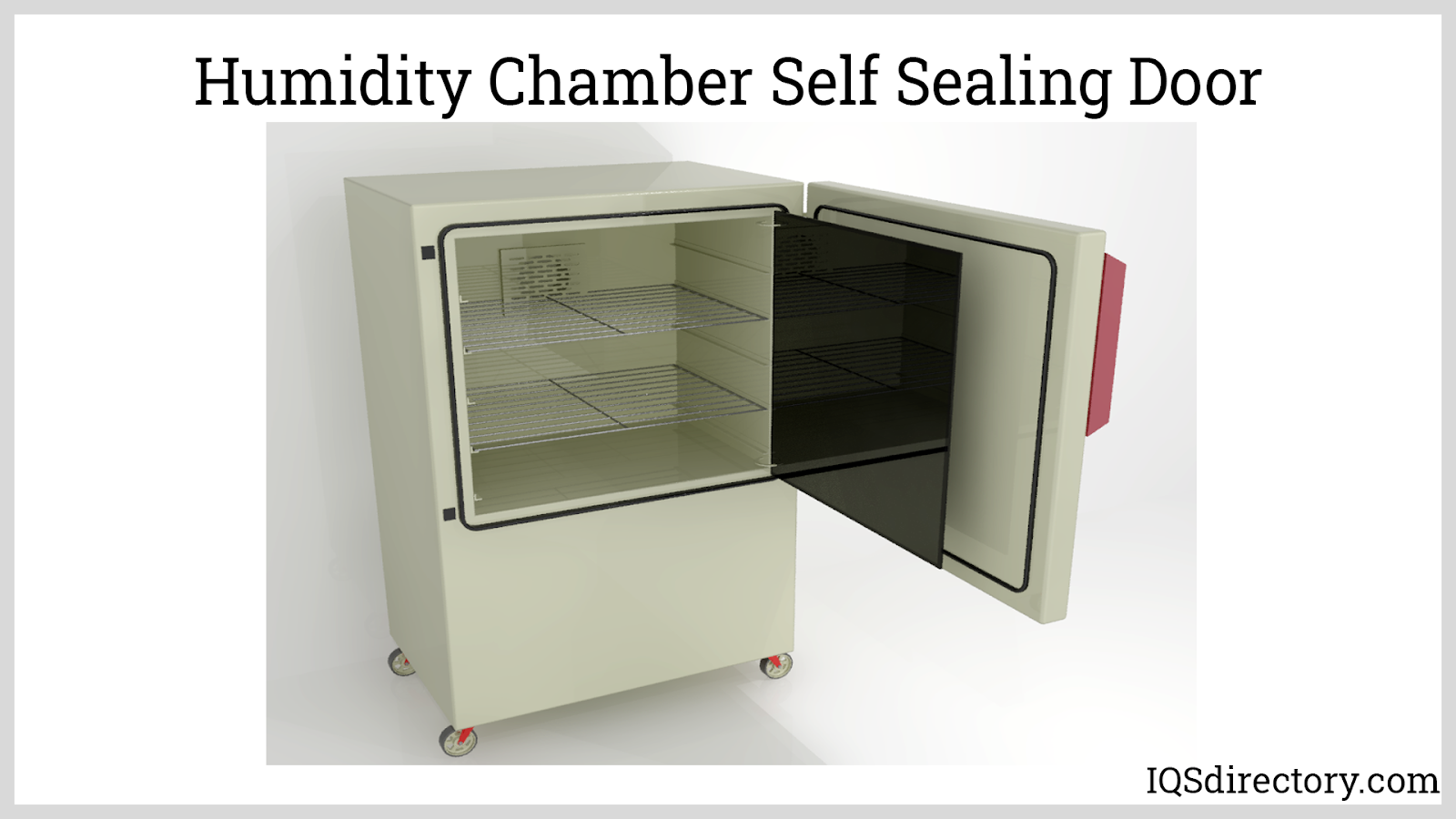 Humidity Chamber Self Sealing Door