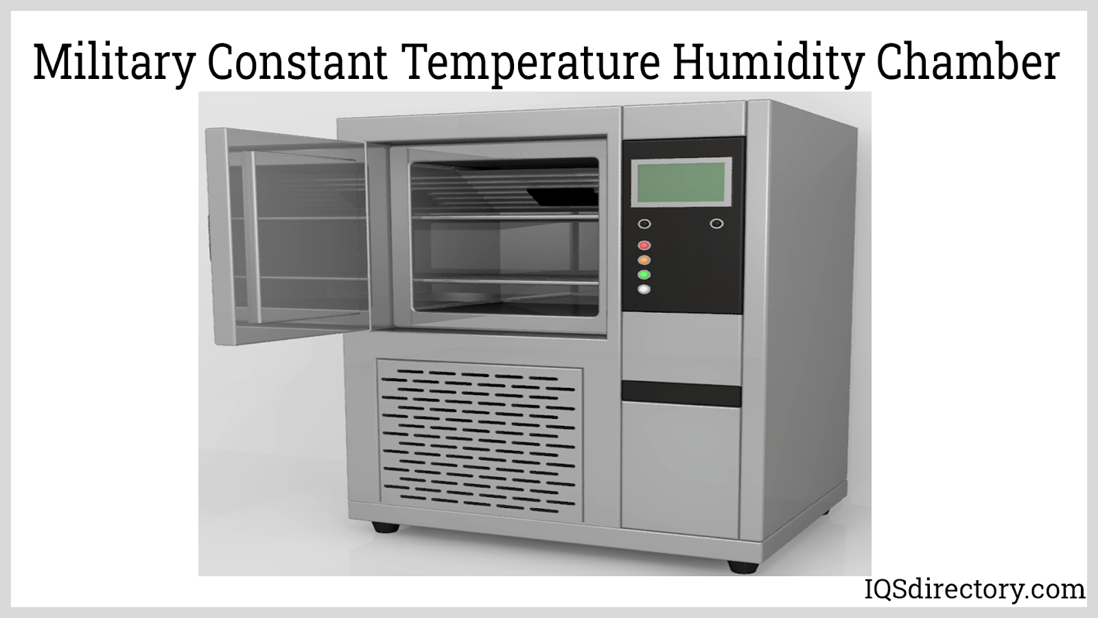 Military Constant Temperature Humidity Chamber
