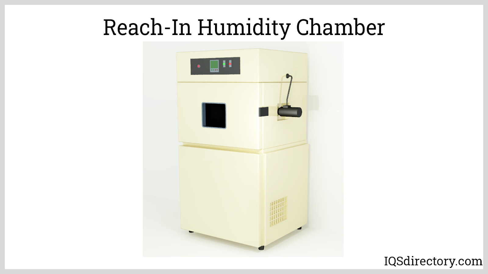 Reach-In Humidity Chamber