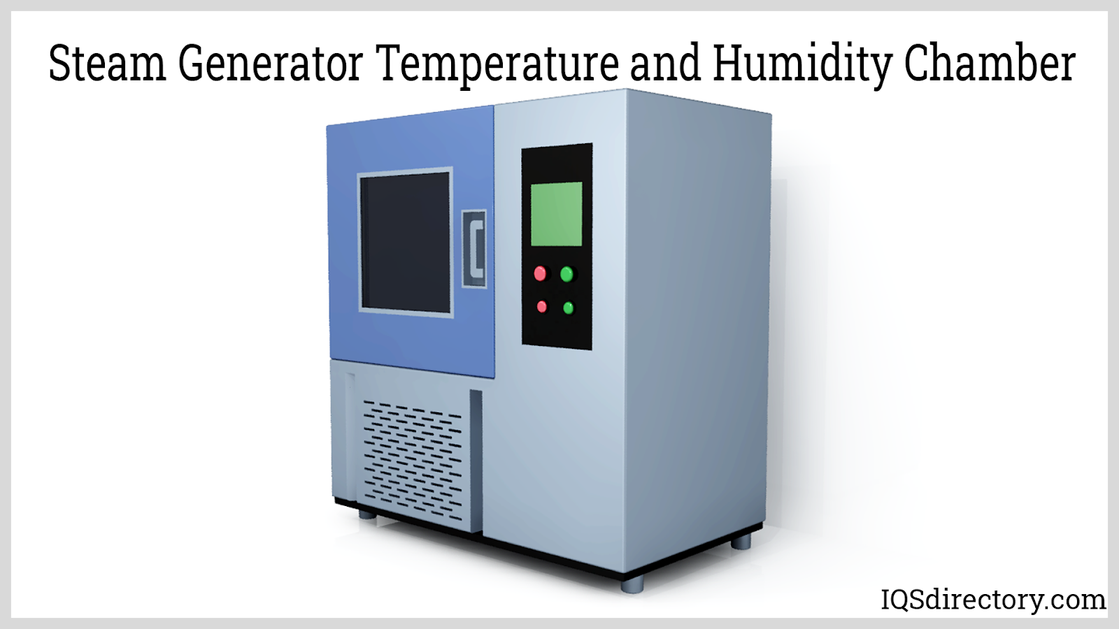 Steam Generator Temperature and Humidity Chamber