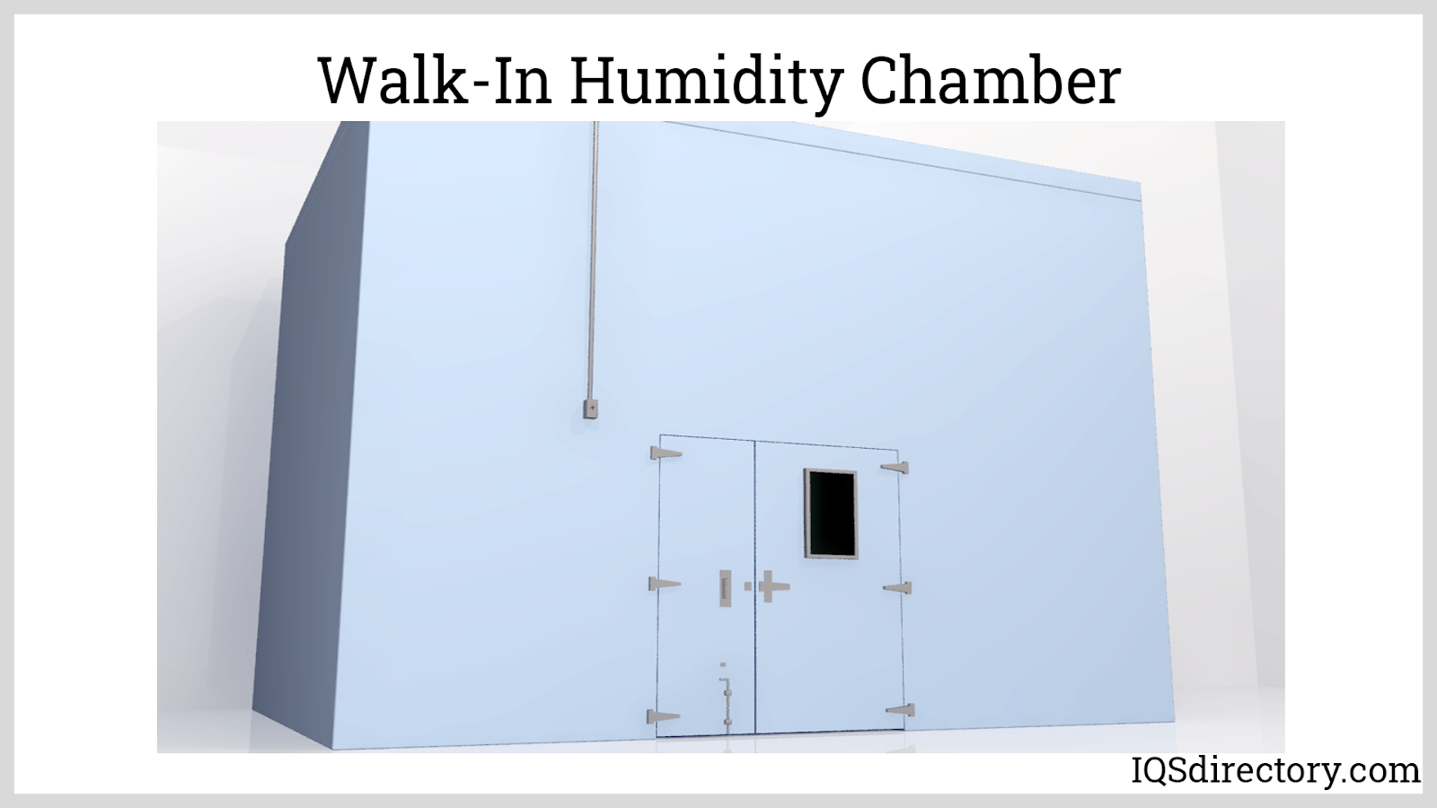 Walk-In Humidity Chamber