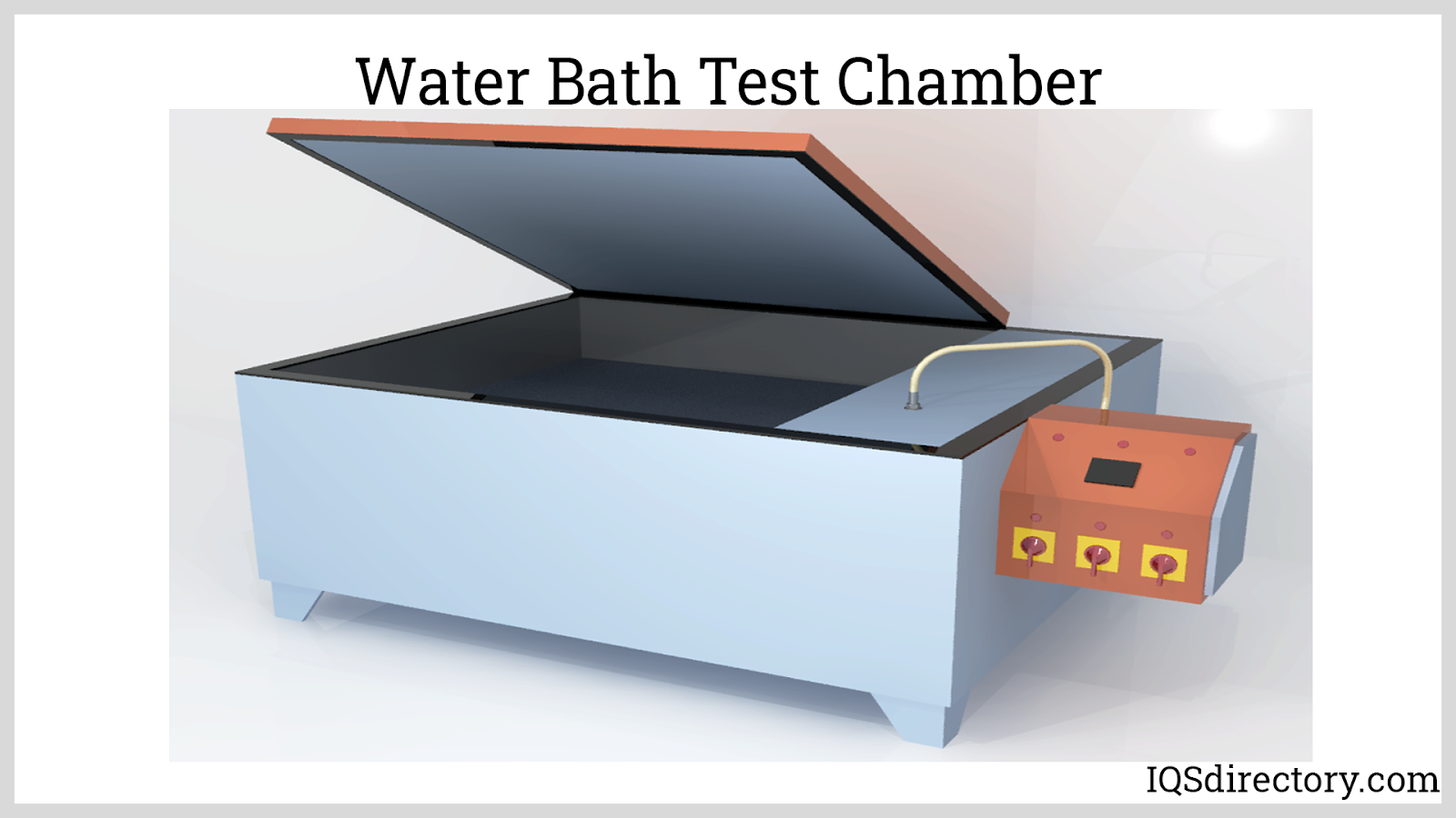 Water Bath Test Chamber