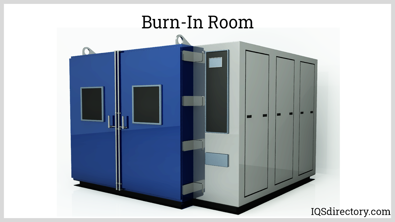 Burn-In Room