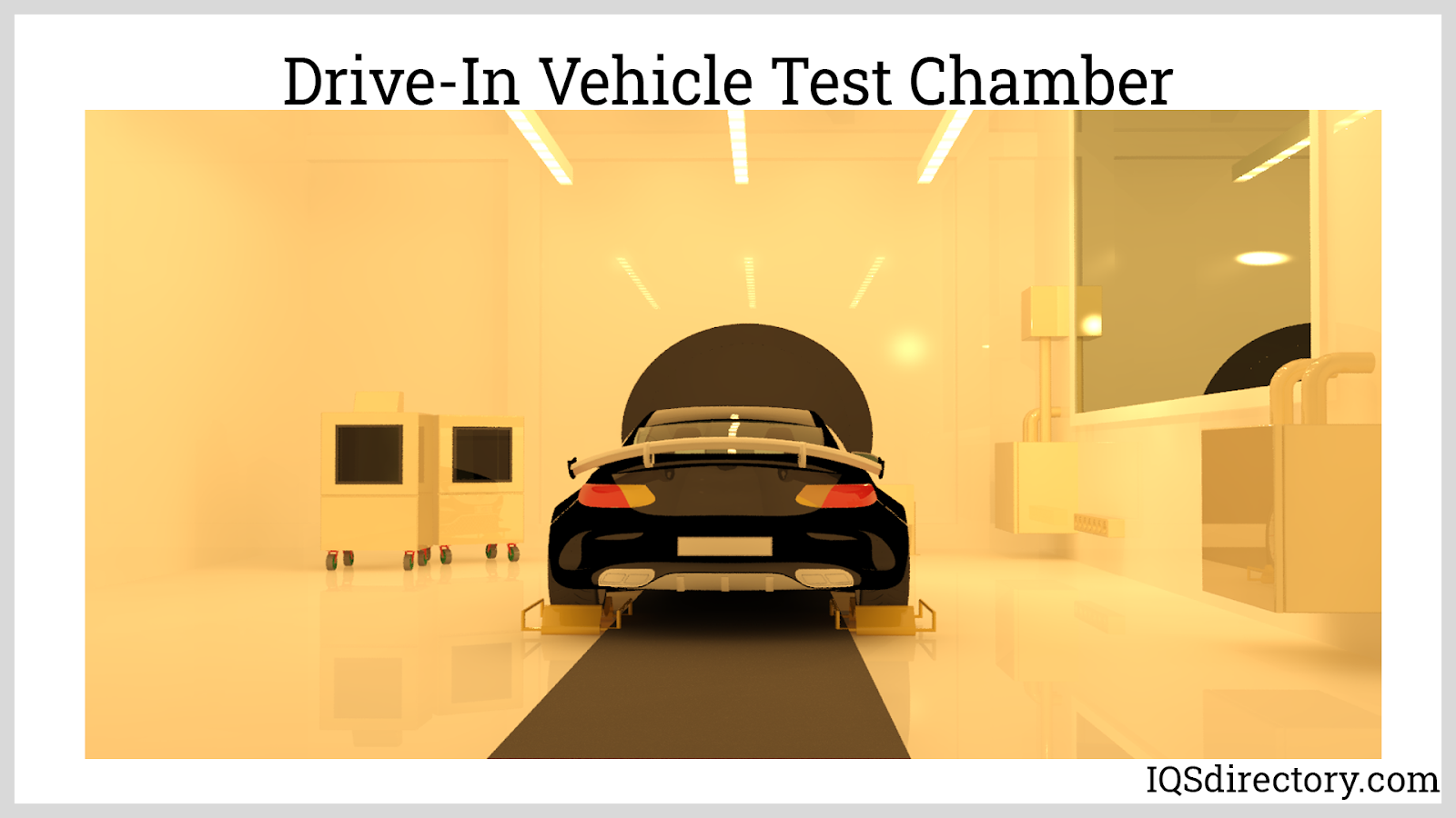 Drive-In Vehicle Test Chamber