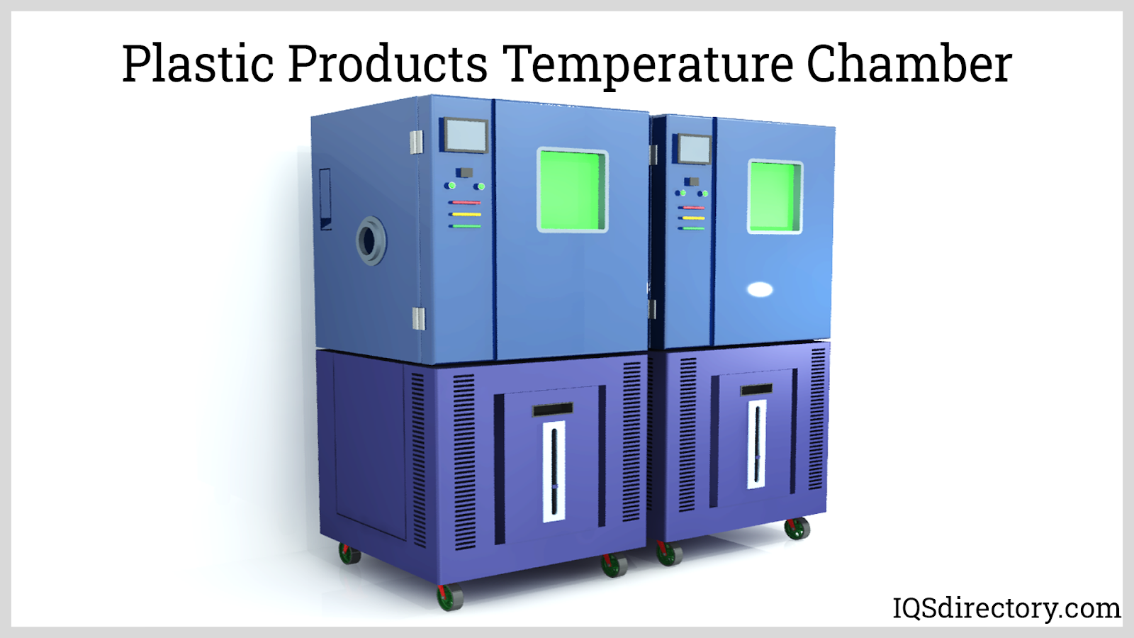 Plastic Products Temperature Chamber