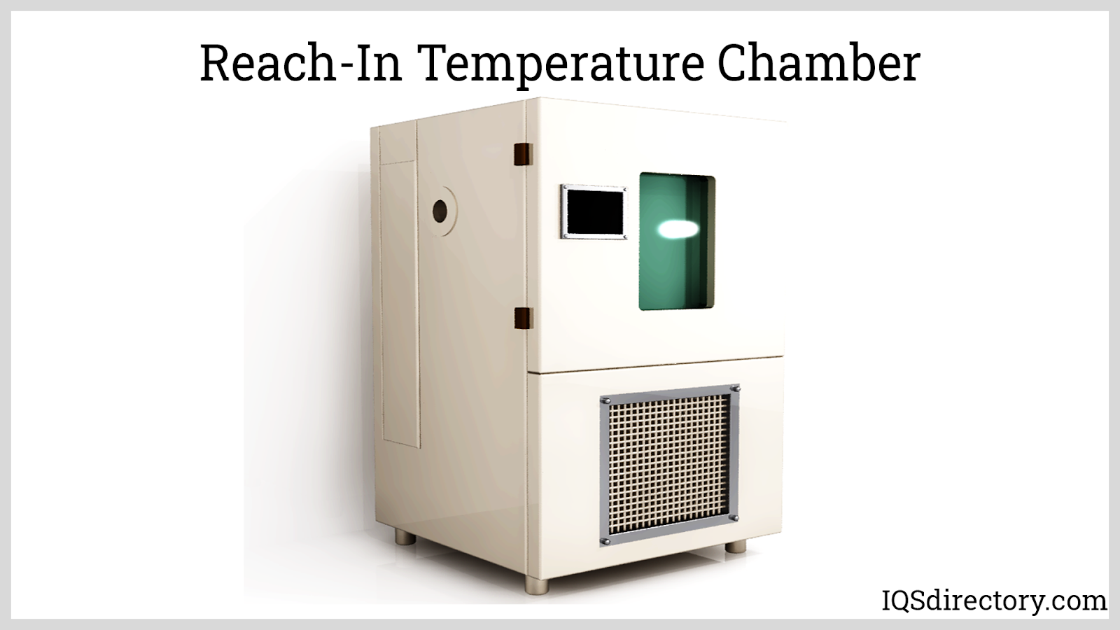 Reach-In Temperature Chamber