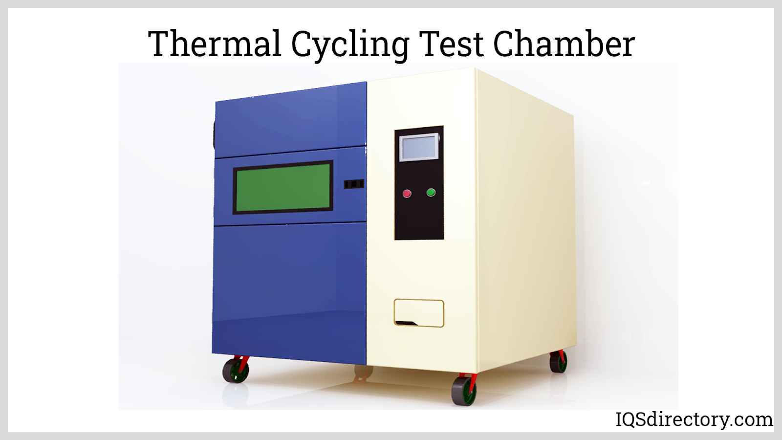 Thermal Cycling Test Chamber