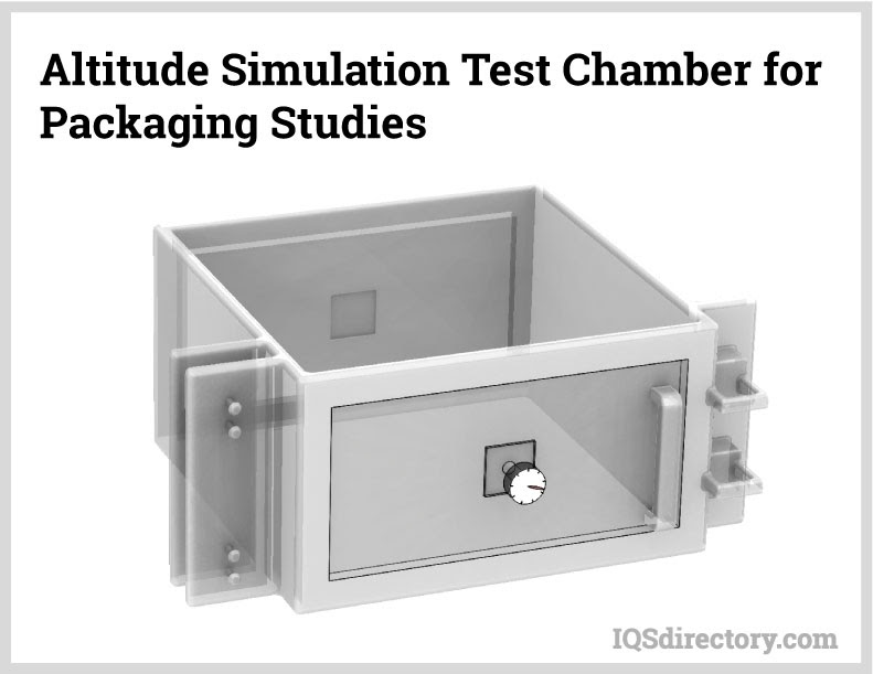 Altitude Simulation Test Chamber for Packaging Studies