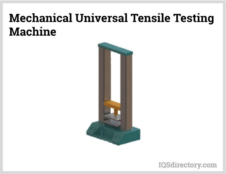 Mechanical Universal Tensile Testing Machine