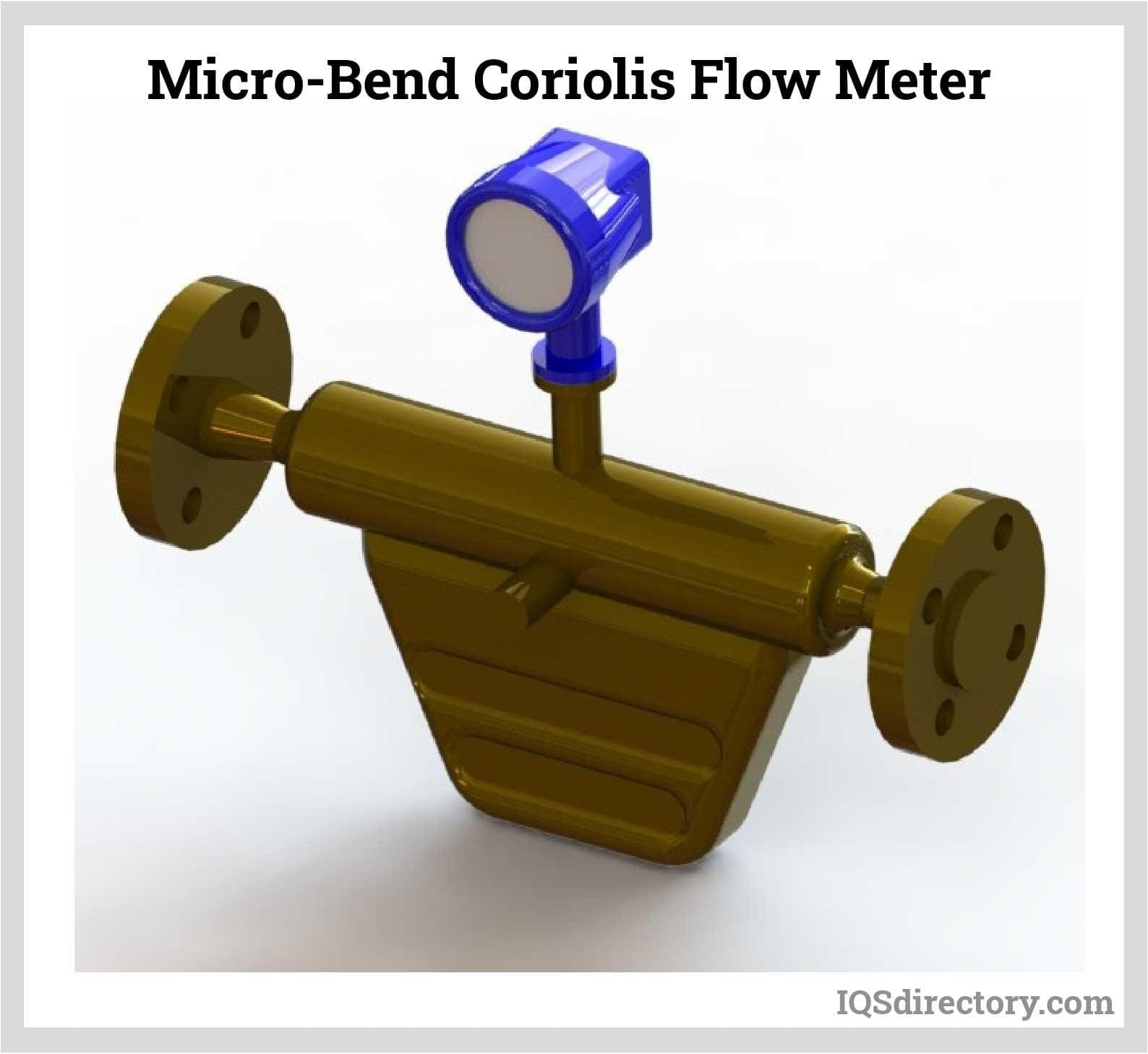 Micro-Bend Coriolis Flow Meter