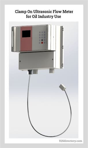 Clamp On Ultrasonic Flow Meter for Oil Industry Use