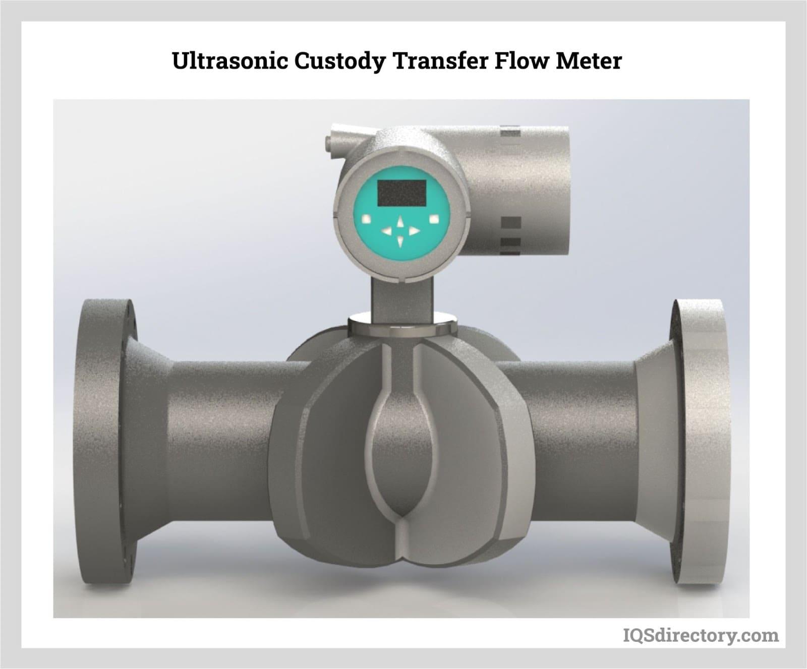 Ultrasonic Custody Transfer Flow Meter