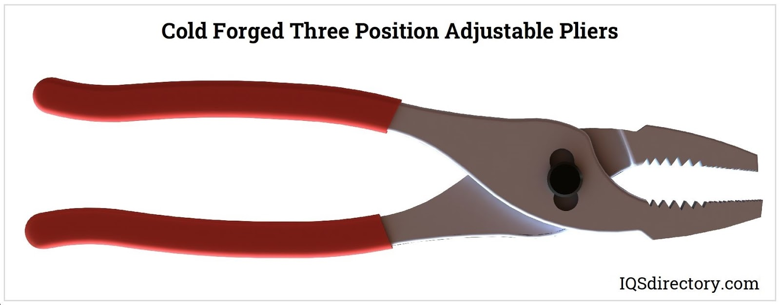 Cold Forged Three Position Adjustable Pliers