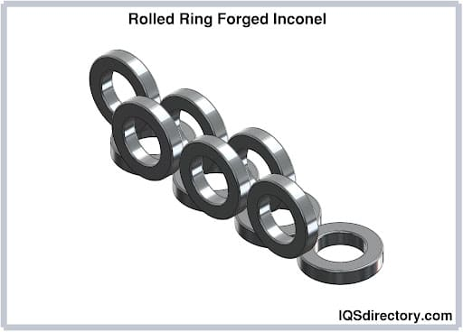 Rolled Ring Forged Inconel