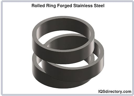 Rolled Ring Forged Stainless Steel