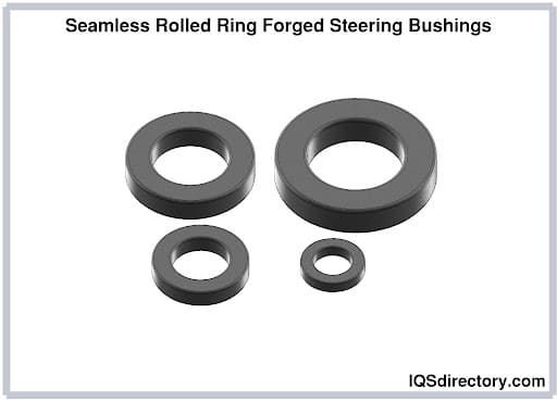 Seamless Rolled Ring Forged Steering Bushings