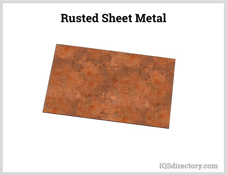 Rusted Sheet Metal