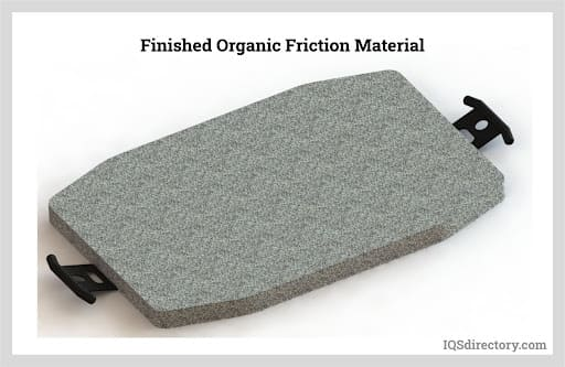 Finished Organic Friction Material