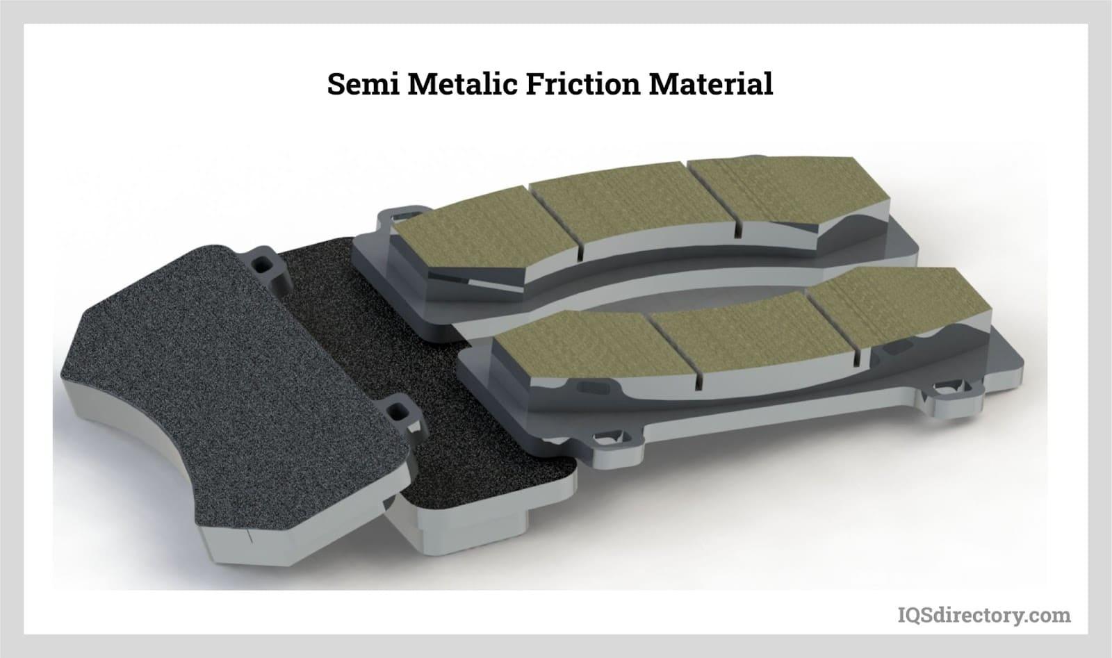 Semi-Metallic Friction Material