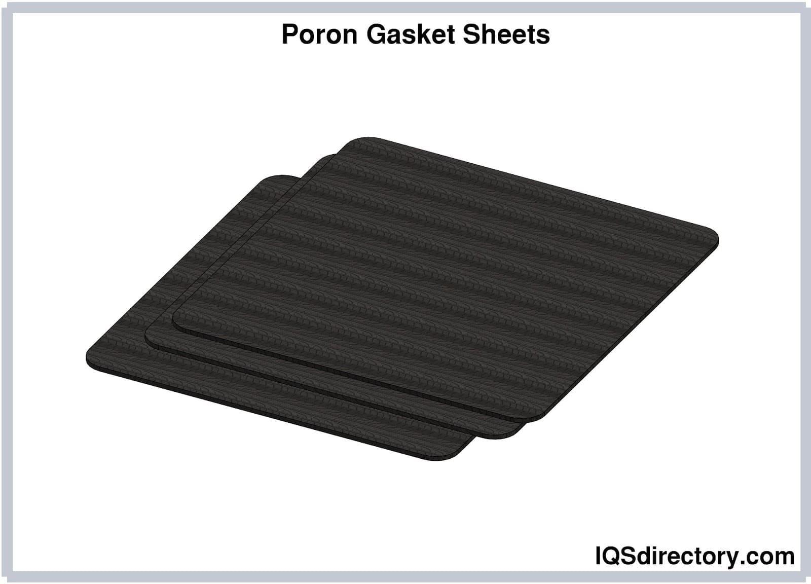Poron Gasket Sheets