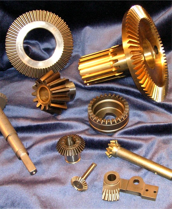 Bevel and Miter Gears