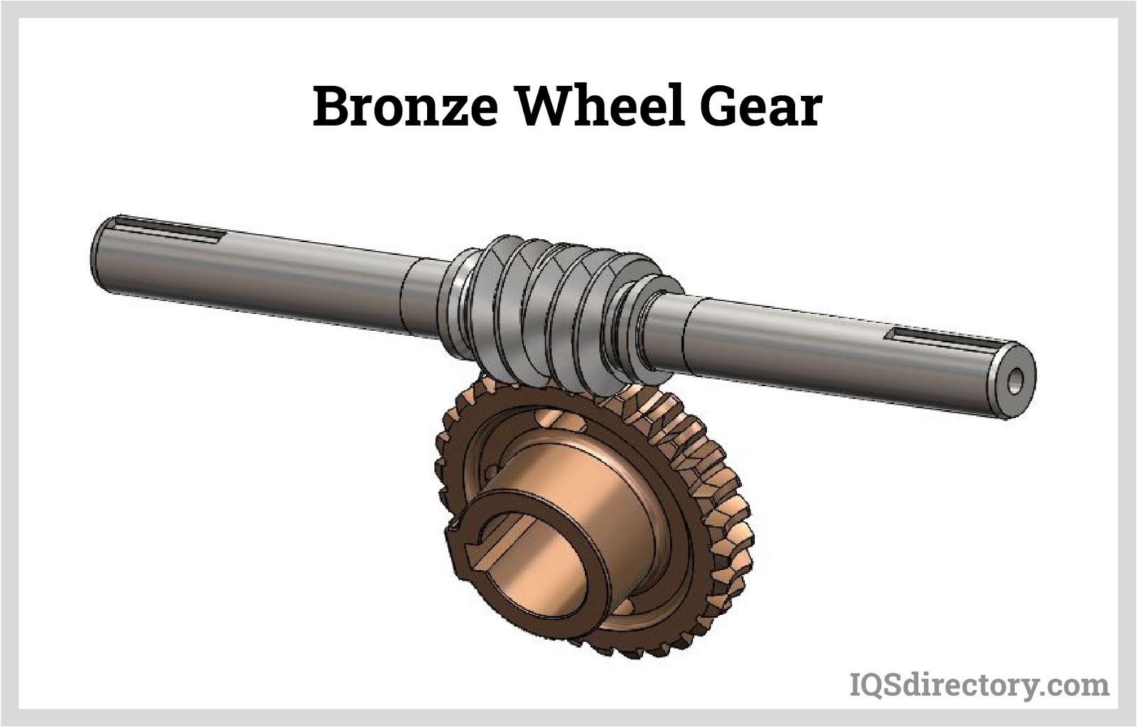 Bronze Wheel Gear