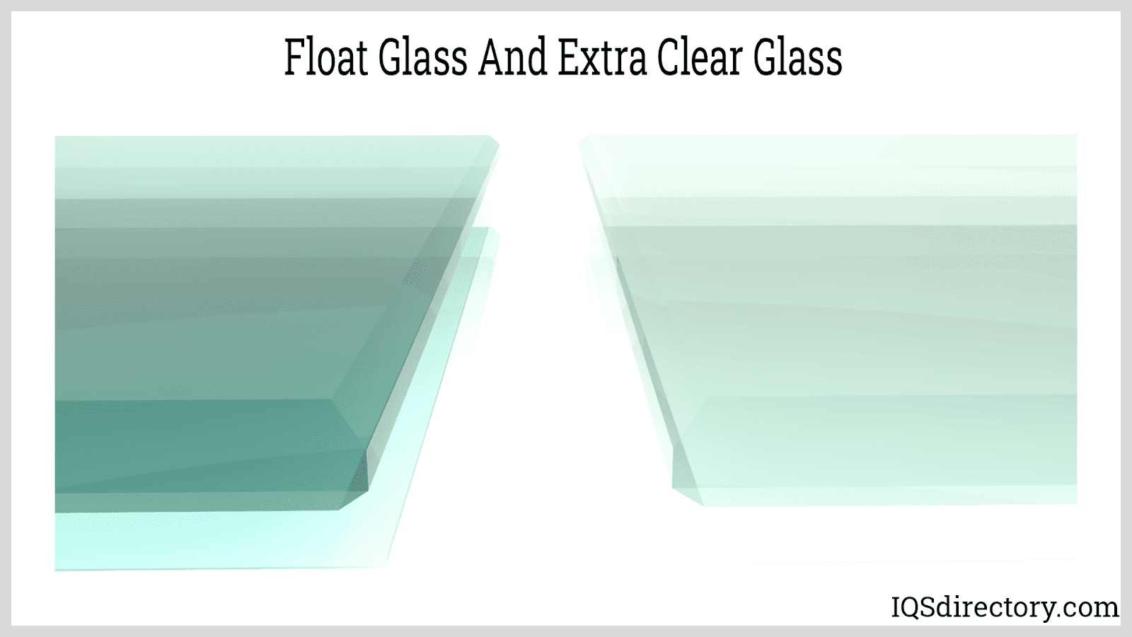 Float Glass and Extra Clear Glass