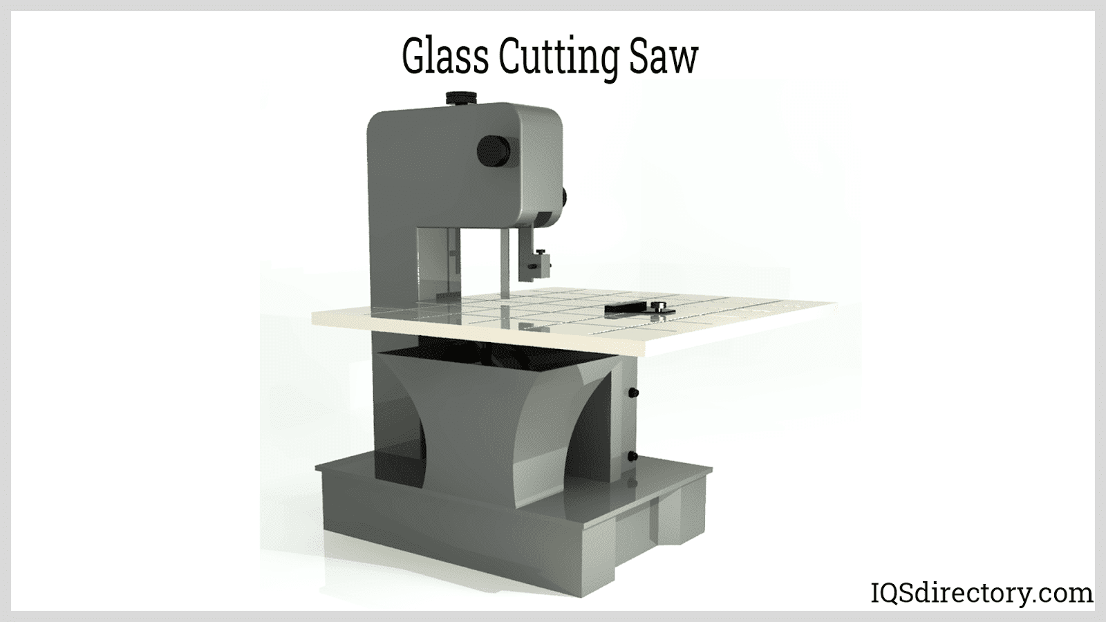 Glass Cutting Saw