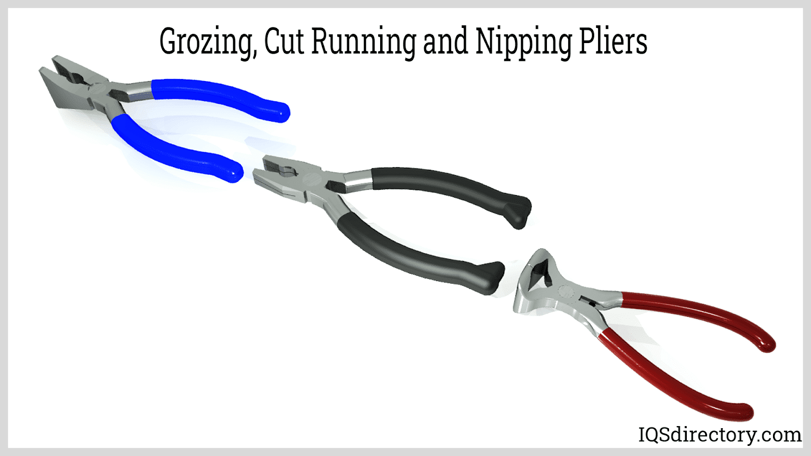 Grozing, Cut Running, and Nipping Pliers