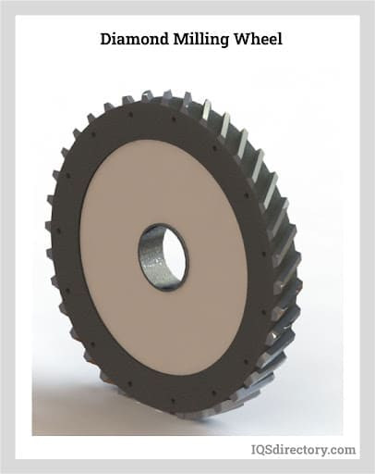 Diamond Milling Wheel