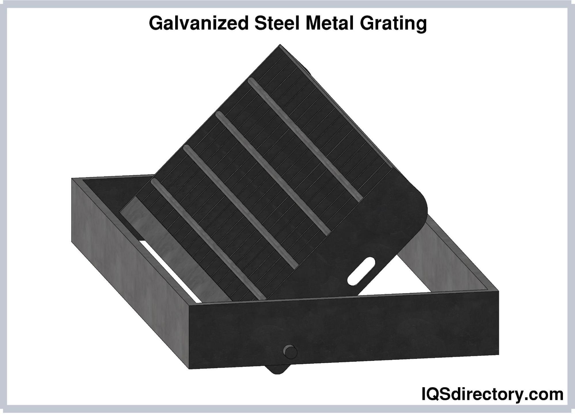 Galvanized Steel Metal Grating