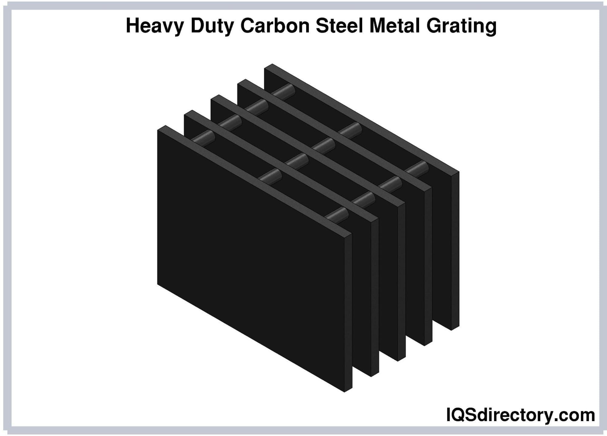 Heavy Duty Carbon Steel Metal Grating