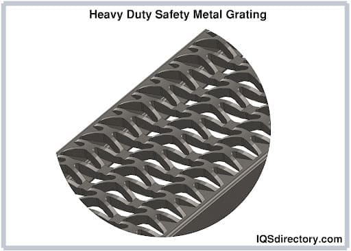 Heavy Duty Safety Metal Grating