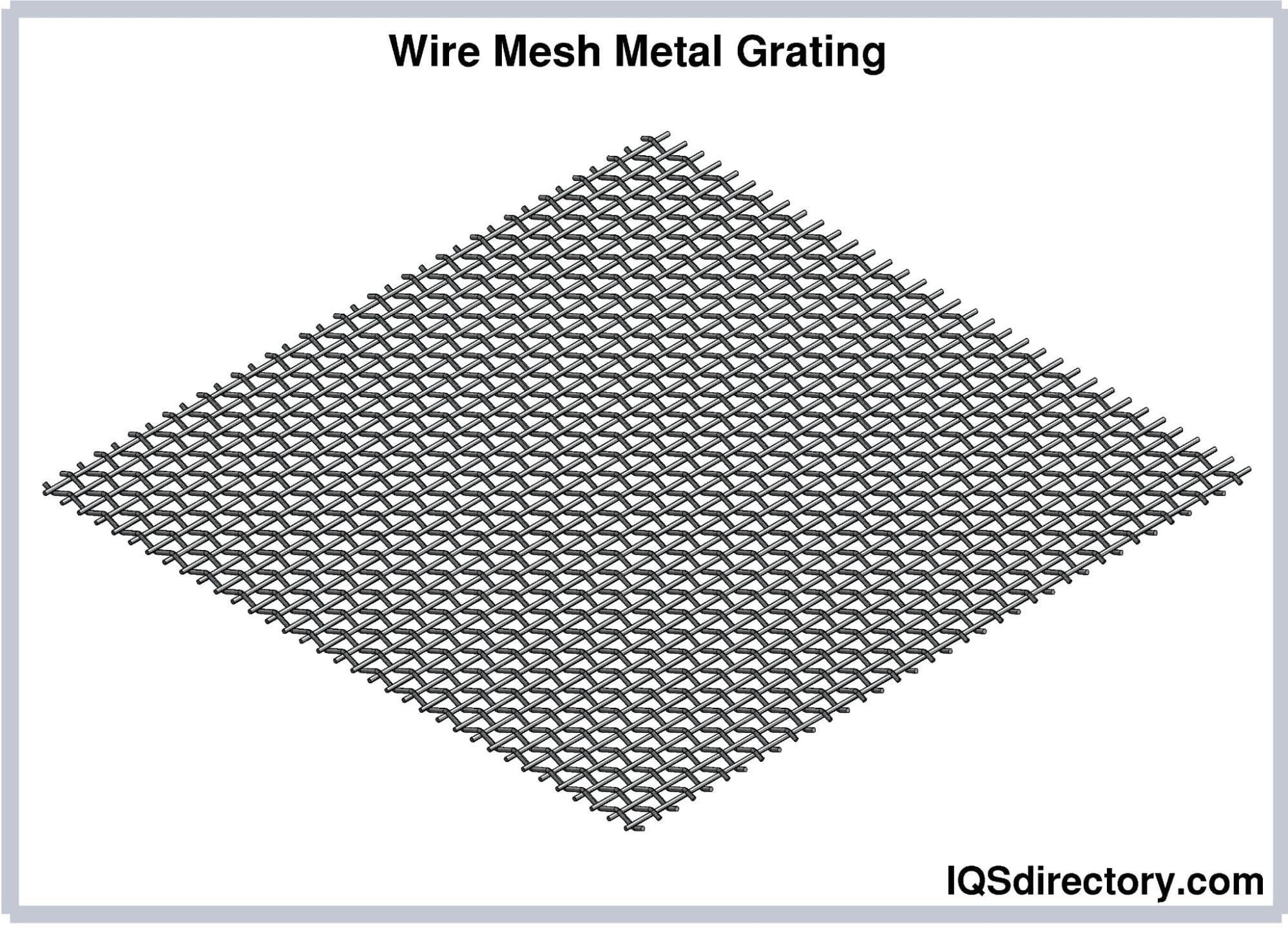 Wire Mesh Metal Grating