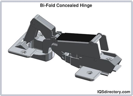 Bi-Fold Concealed Hinge