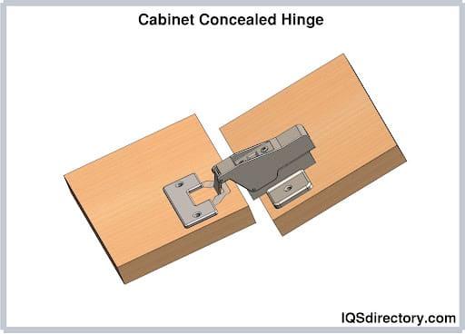 Cabinet Concealed Hinge