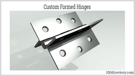 Custom Formed Hinges