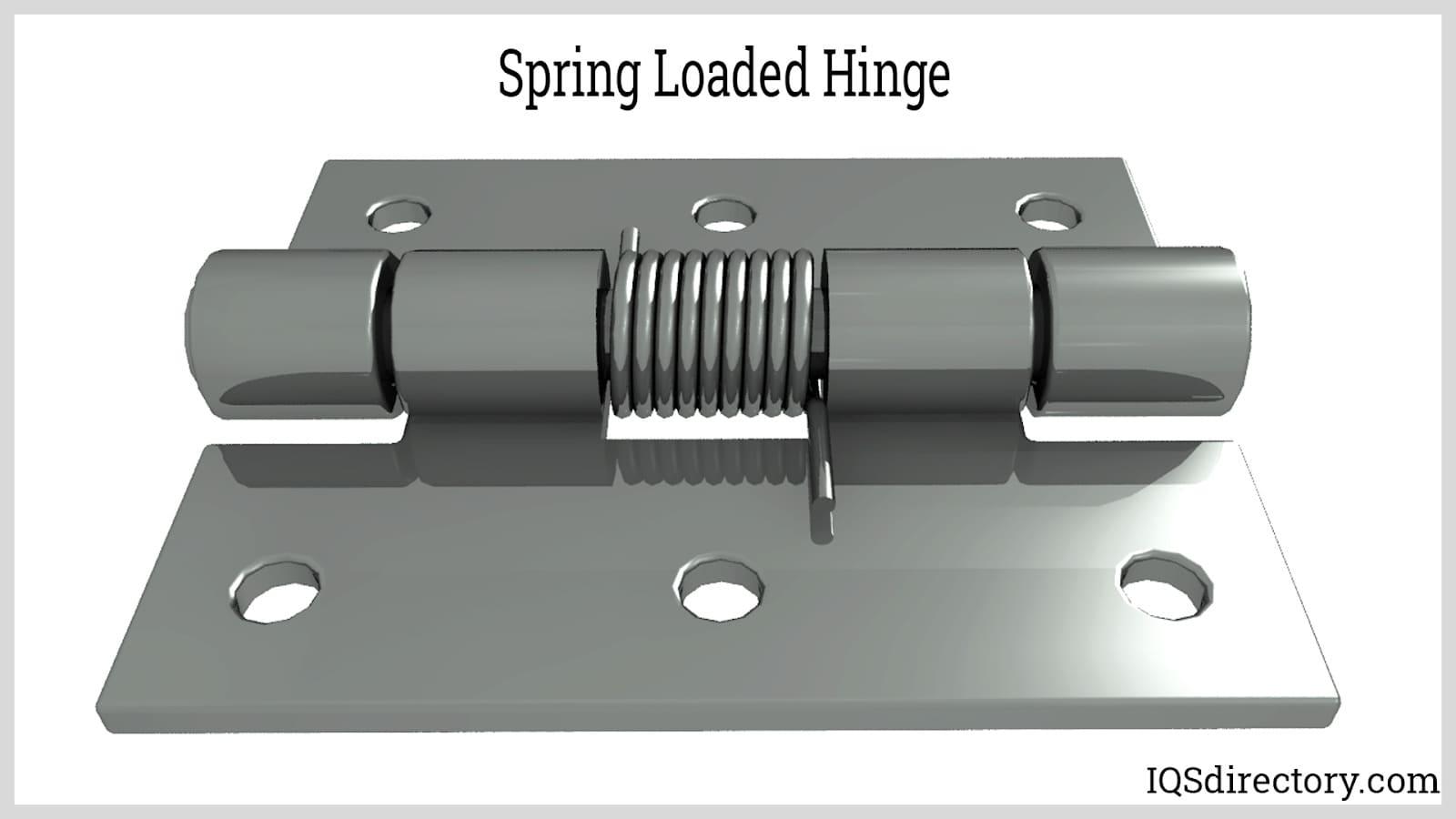 Spring Loaded Hinge