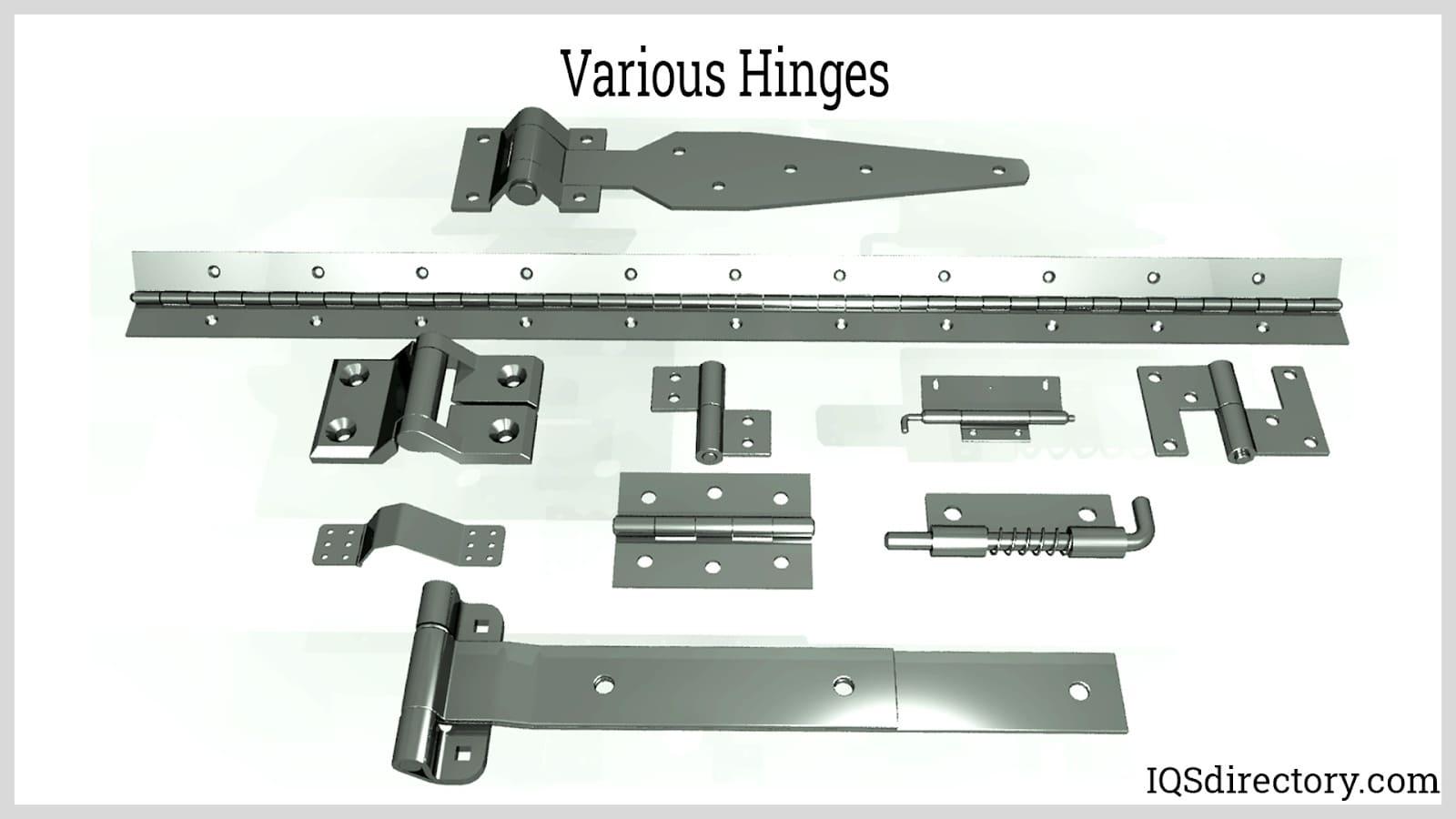 Various Hinges