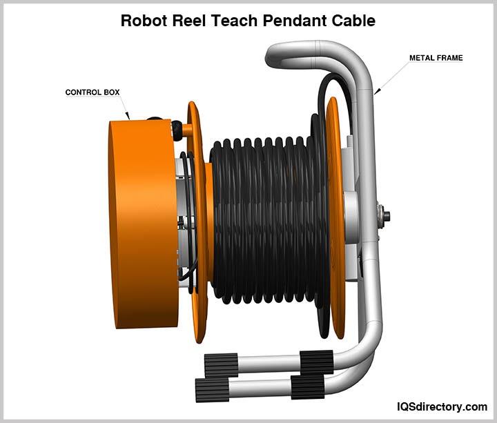 Robot Reel Teach Pendant Cable