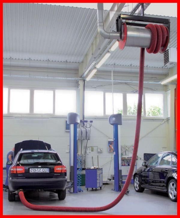 Exhaust Extraction Hose Reel