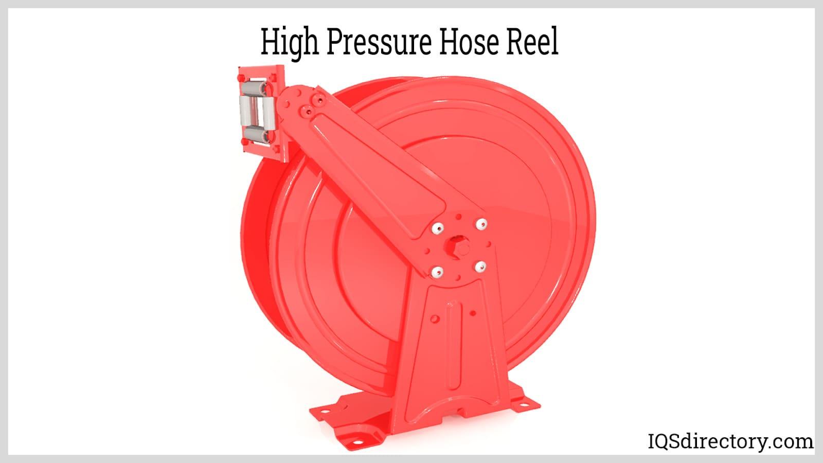 High Pressure Hose Reel