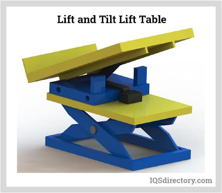 Lift and Tilt Lift Table