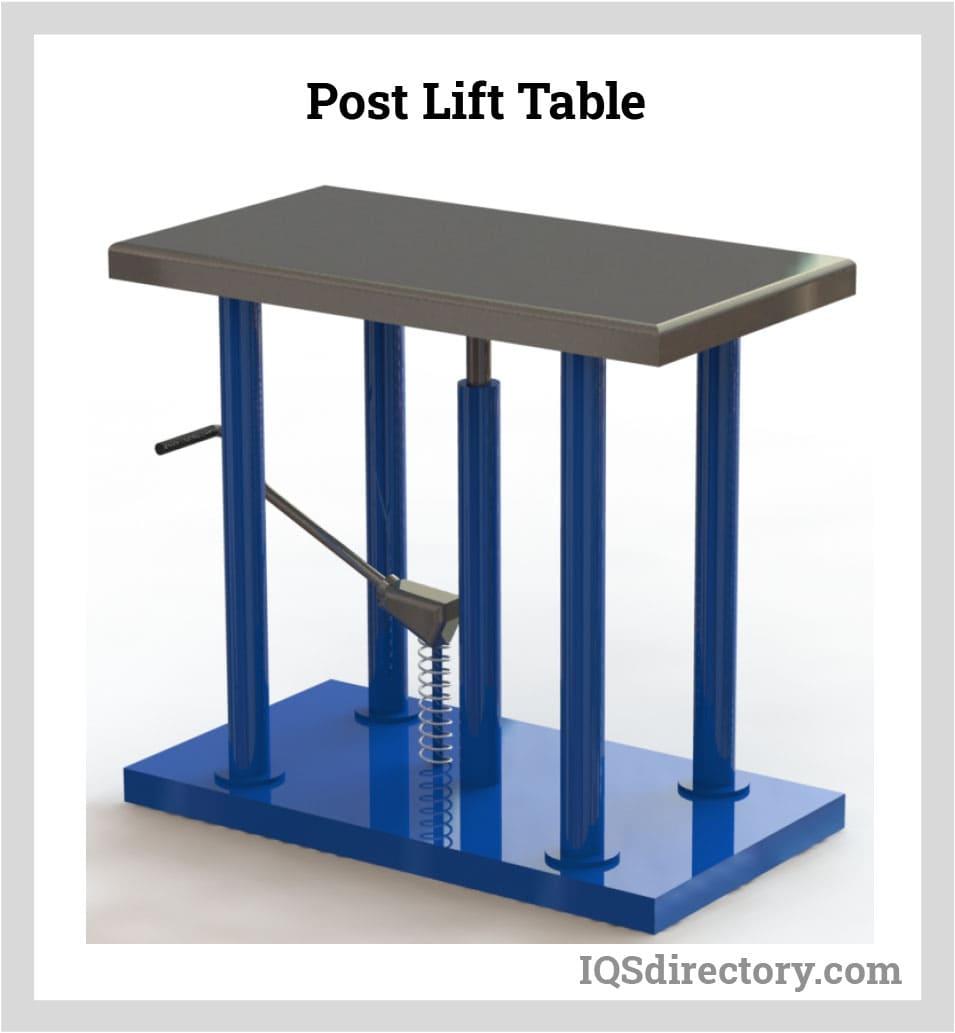 Post Lift Table