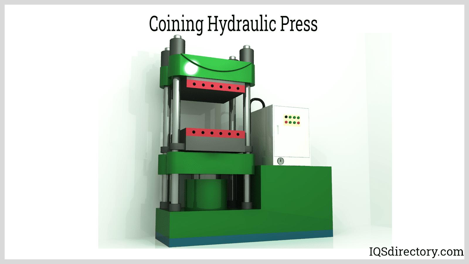 Coining Hydraulic Press